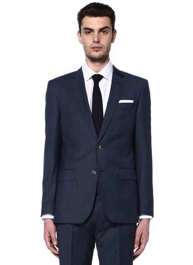 Boss Takım Elbise Mavi